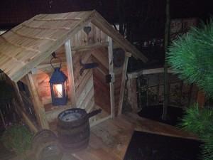 Gartenspielhütte aus Holz