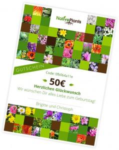 Gutschein Native Plants
