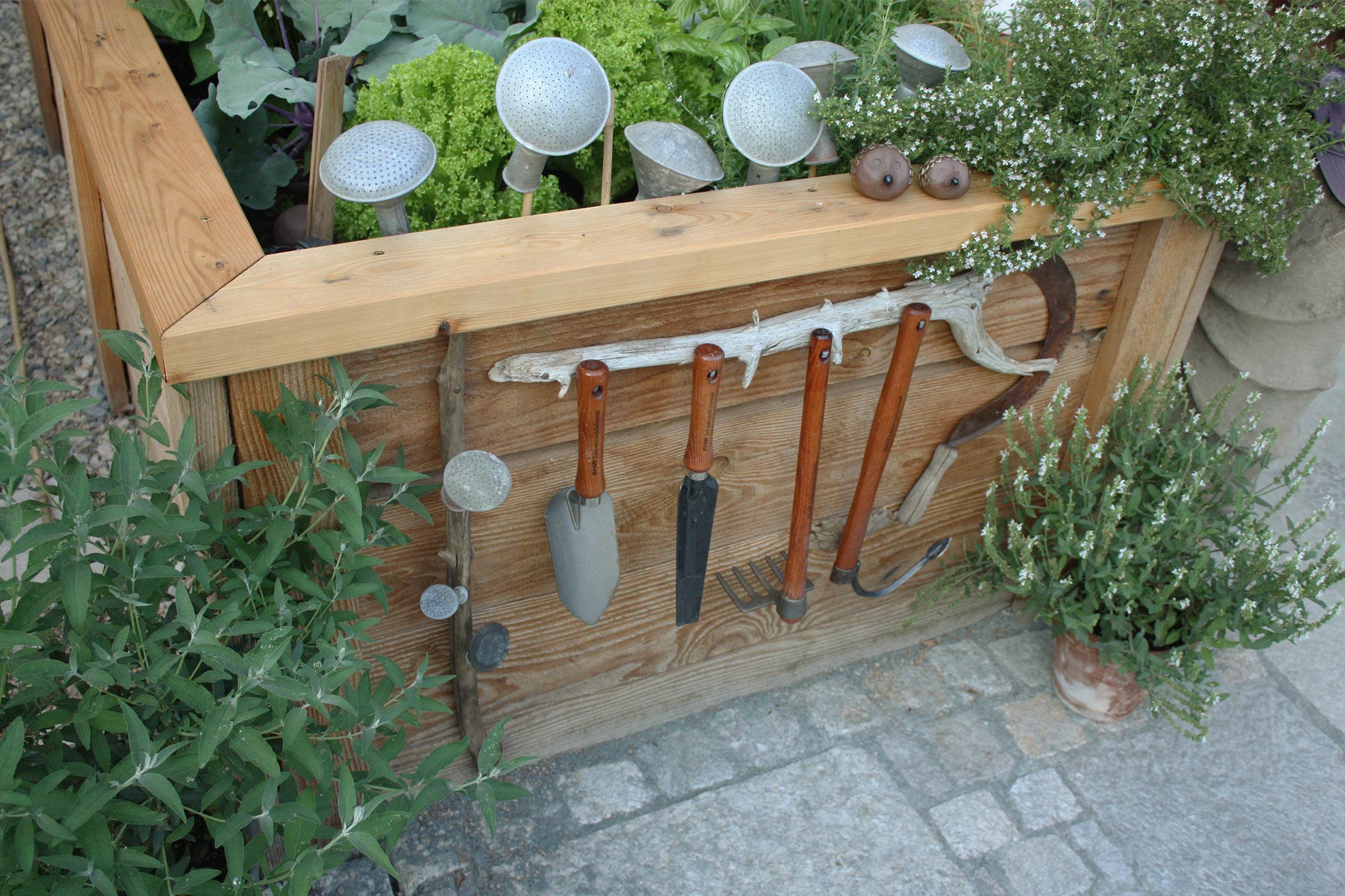 Ordnung im Gemüsegarten