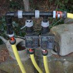 Bewässerungscomputer und andere empfindliche Bauteile, wie Druckminderer müssen frostfrei überwintert werden.
