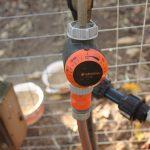 Auch Bewässerungsuhren müssen abgebaut und frostfrei überwintert werden!