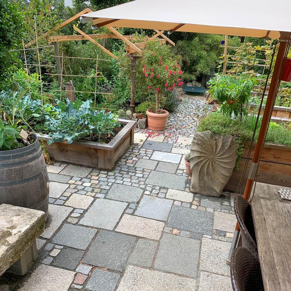 Terrasse pflastern   Native Plants Gartenblog