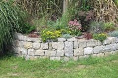 Natursteinmauer - Trockenmauer
