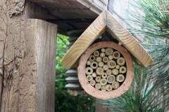 Insektenhotels sind aktiver Umweltschutz