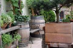 Kübelbepflanzung und Balkonkästen