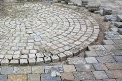 Naturstein-Kreise Pflastern