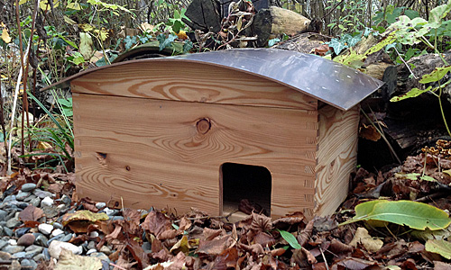 DIY Projekt Igelhaus bauen