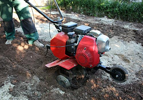 Gartenfraese Bodenverbesserung
